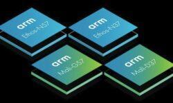 ARM представила нейропроцессоры Ethos-N57 и N37, графику Mali-G57 Valhall и Mali-D37