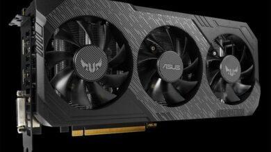 Photo of Частота чипа видеокарты ASUS TUF Gaming X3 GeForce GTX 1660 Super OC достигает 1860 МГц