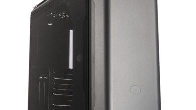 Фото Cooler Master MasterCase SL600M Black Edition: лаконичный корпус для плат E-ATX