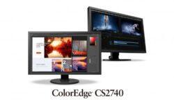 Eizo представила 27″ монитор4K ColorEdge CS2740 с разъемом USB-C и 10-бит палитрой