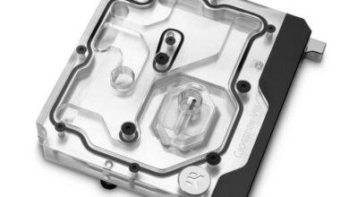 Фото EK Water Blocks представила водоблок для систем на плате ROG Crosshair VIII Hero