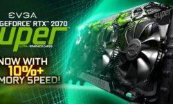 EVGA представила видеокарты GeForce RTX 2070 Super Ultra+ с разогнанной памятью