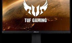 Игровой монитор ASUS TUF Gaming VG249Q обладает поддержкой FreeSync