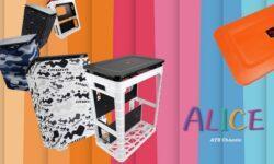 In Win Alice: «сказочный» компьютерный корпус из пластика с нестандартной компоновкой