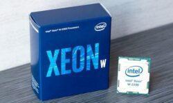 Intel Xeon W, большое обновление