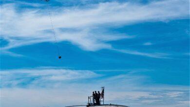 Фото Испытана доставка грузов дронами на подводные лодки США