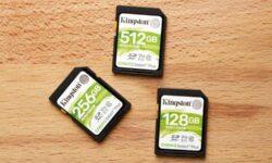 Kingstone представила карты памяти Canvas Select Plus ёмкостью до 512 Гбайт