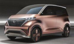 Концепт-кар Nissan IMk: электропривод, автопилот и интеграция со смартфоном