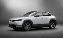 Mazda представила первый серийный электромобиль MX-30