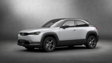 Фото Mazda представила первый серийный электромобиль MX-30