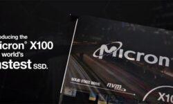 Micron называет X100 SSD самыми быстрыми в мире твердотельными накопителями: 9 Гбайт/с на операциях чтения и записи