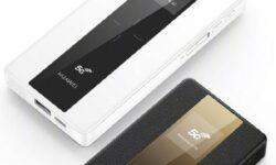Мобильные роутеры Huawei 5G Mobile WiFi оснащены батареей ёмкостью до 8000 мАч