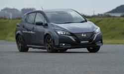 Nissan испытала на электромобиле LEAF e+ управляемую систему полного привода