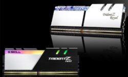 Новые комплекты памяти G.SKILL DDR4 имеют объём до 256 Гбайт