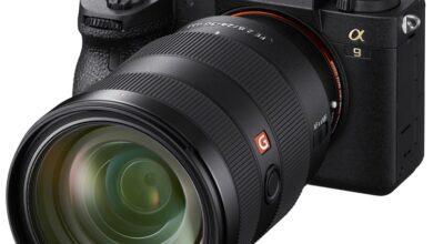 Фото Полнокадровая фотокамера Sony Alpha 9 II оснащена гигабитным Ethernet-портом