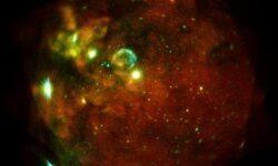Получен снимок волны от взрыва сверхновой, который произошел 30 лет назад