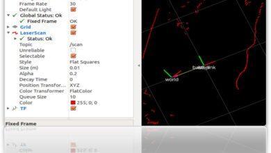 Фото Робот-тележка на ROS. Часть 7. Локализация робота: gmapping, AMCL, реперные точки на карте помещения