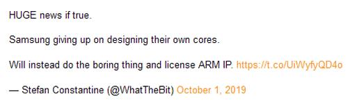 Слухи: Samsung прекращает разработку собственных CPU на ARM и переходит на лицензирование готовых ядер