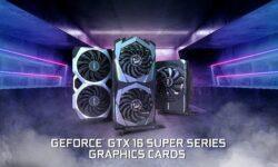 В семейство видеокарт MSI GeForce GTX 16 Super вошли двенадцать моделей