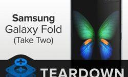 Вскрытие Samsung Galaxy Fold: гибкий смартфон вряд ли удастся отремонтировать
