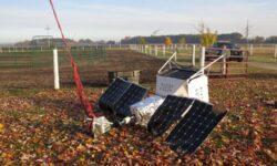 Запущенный в стратосферу аппарат с Samsung Galaxy S10 Plus упал возле фермы в Мичигане