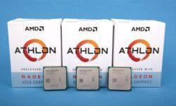 AMD готовит к выпуску бюджетный двухъядерник Athlon 3000G