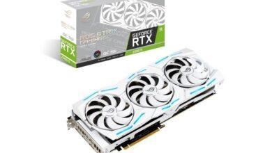 Фото ASUS ROG Strix GeForce RTX 2080 Ti White Edition: знакомая видеокарта в белом обличье