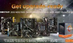BIOSTAR обеспечивает поддержку Ryzen 9 3950X даже для плат на базе чипсета AMD A320