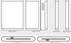 Четверная камера и экран двойного складывания: Xiaomi патентует новый смартфон