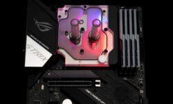 EK Water Blocks выпустила «моноблок» для платы ASUS ROG Strix X570-E и процессоров Ryzen