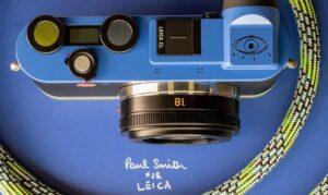 Фотокамера Leica CL Edition Paul Smith получила необычное оформление