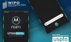 Гибкий смартфон Motorola razr 2 может получить систему бокового управления Side-Touch