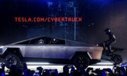 Илон Маск подтвердил, что квадроцикл Cyberquad — аксессуар пикапа Cybertruck