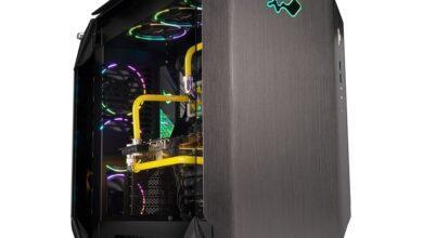 Фото In Win 925: корпус из алюминия и стекла с поддержкой видеокарт длиной до 420 мм