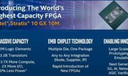 Intel представила самую большую в мире ПЛИС Stratix 10 GX 10M