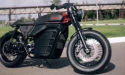 «Калашников» представил свой электромотоцикл «Иж»