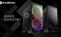 Корпус Raijintek Silenos для игрового ПК допускает установку 200-мм вентиляторов