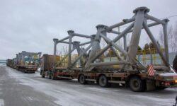 Модули кабель-заправочной башни для ракеты «Ангара» доставлены на Восточный