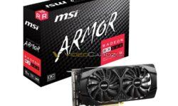 MSI готовит новый ускоритель Radeon RX 580 Armor