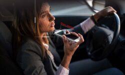 Новая система запретит водителям курить и разговаривать по телефону за рулем