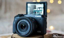 Новая статья: Обзор камеры Canon EOS M6 Mark II: впечатляющий апгрейд