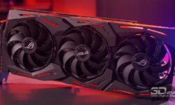 Новая статья: Обзор видеокарты ASUS ROG STRIX Radeon RX 5700 XT OC: догнать и перегнать RTX 2070 SUPER