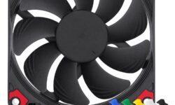Новые вентиляторы Noctua Chromax комплектуются разноцветными антивибрационными накладками