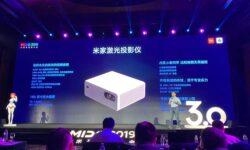 Новый лазерный проектор Xiaomi формирует изображение с диагональю до 150″