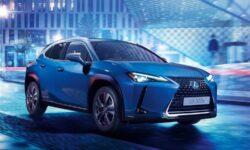 Первым электромобилем Lexus стал динамичный кроссовер UX 300e