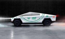 Полиция Дубая планирует добавить электрический пикап Tesla Cybertruck в свой парк автомобилей