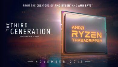 Фото Процессоры Ryzen Threadripper 3000 будут представлены 7 ноября