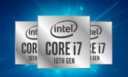 Шестиядерный Core i7-10710U в основном превосходит другие Core U-серии, но сильно греется