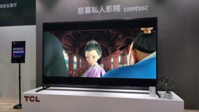 Фото Смарт-телевизор TCL диагональю 100 дюймов стоит $11 400