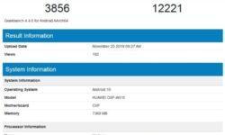 Смартфон Honor V30 5G с чипом Kirin 990 и Android 10 показал возможности в Geekbench